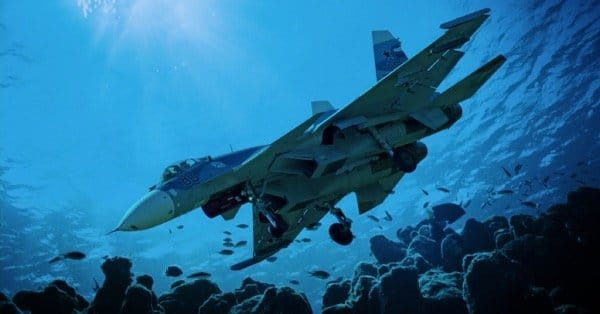 Адмирал Кузнецов утопил СУ-33 - второй самолёт за месяц