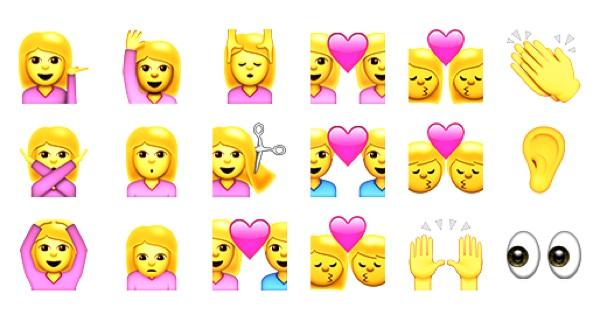 Apple icons (emoji) iOS9