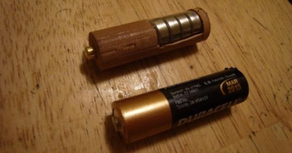 Батарейка стимпанк