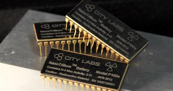 Тритиевые батареи