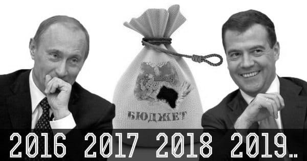 Федеральный Бюджет РФ на 2017-2019 год