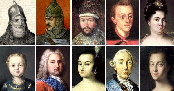 Русские императоры -- иностранцы