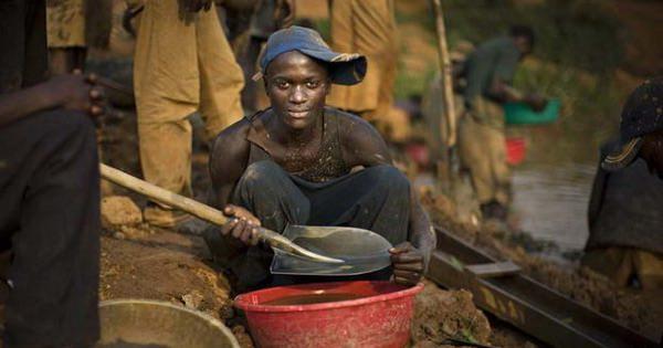 Золотой миллиард - добыча ископаемых