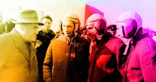 Королёв и экипаж Восход-1