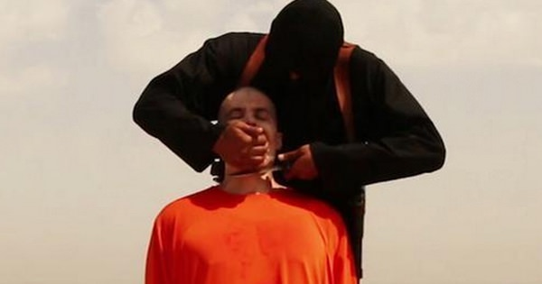 Исламисты отрезают голову американскому журналисту