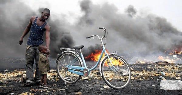 Нигерия - авария на нефтепроводе
