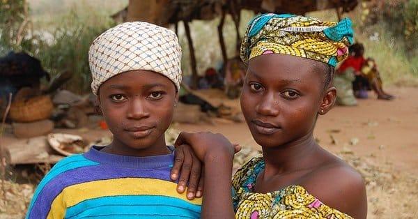 Девушки из Нигерии