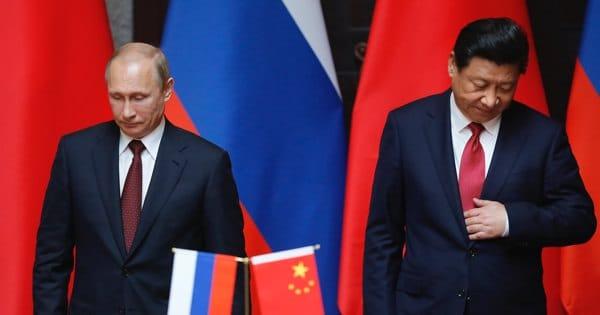 Путин в Китае