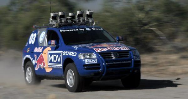 Робот MDV Стэнвордского университета DARPA
