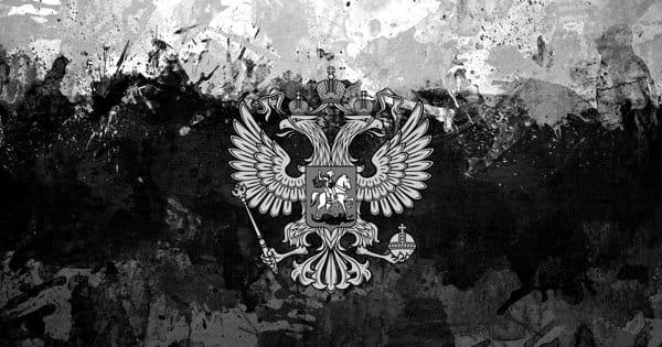 Флаг России с двуглавым орлом