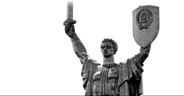 Статуя Родина-мать Киев