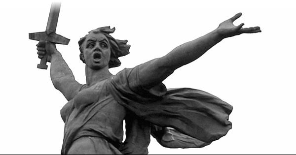 Статуя Родина-мать Волгоград