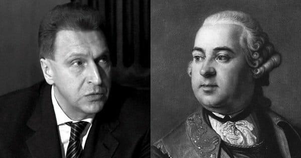 Игорь Иванович и Пётр Иванович Шувалов