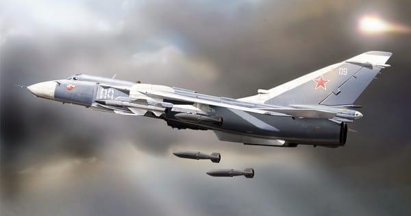 Российский Су-24 сбит в Сирии