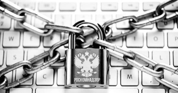 Блокировка сайтов интернет Роскомнадзором