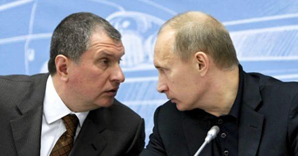 Путин и Сечин