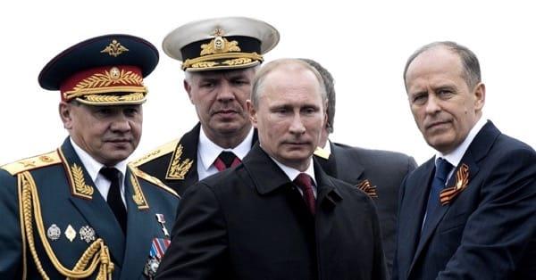 Путин и силовики