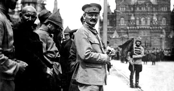 Революционер и еврей Троцкий как носитель русской национальной идеи