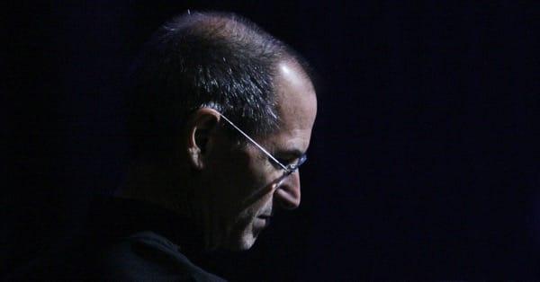Грустный Стив Джобс