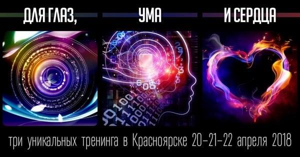 Красноярск, три тренинга Вадима Жартуна
