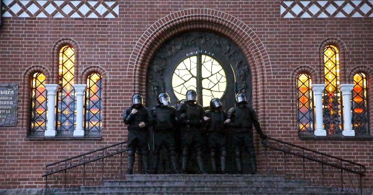 Беззаконие в Беларуси продолжается