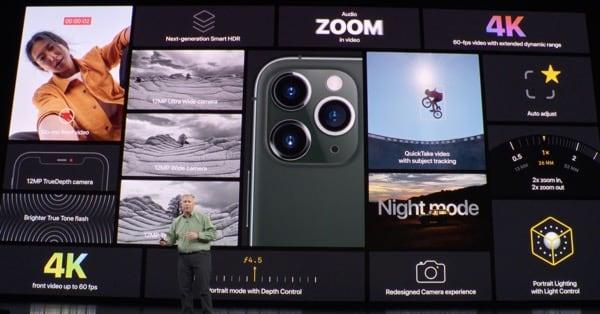 Камера  iPhone 11 Pro