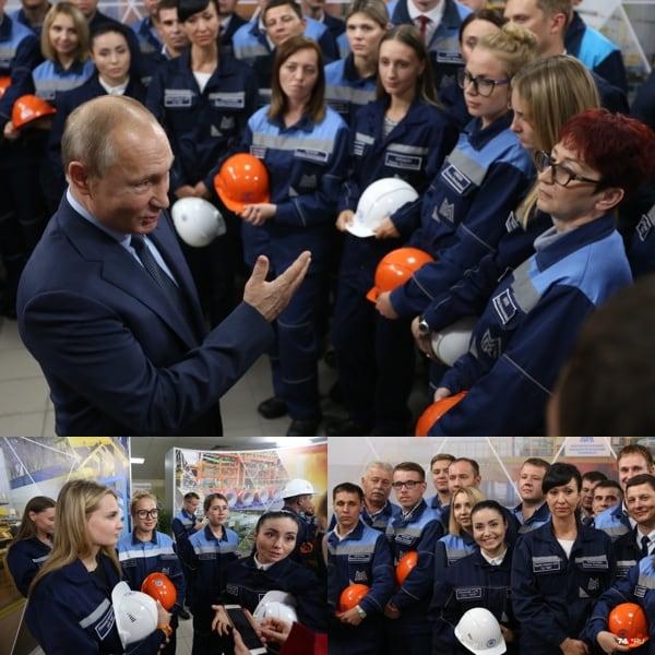 Встреча Путина с металлургами