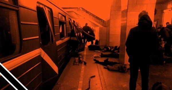 Теракт в метро Петербург