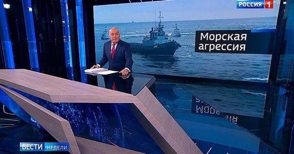 Конфликт России с Украиной в Керченском проливе