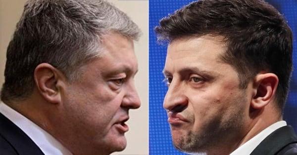 Зеленский против Порошенко