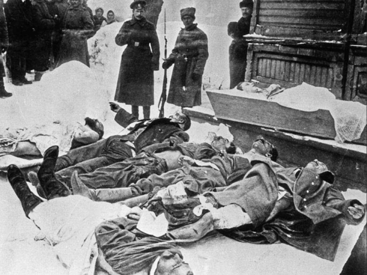Убитые во время Февральской революции полицейские