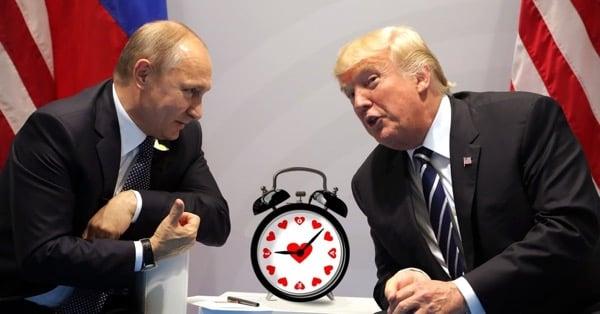 На сколько Путин опоздает на встречу с Трампом в Хельсинки?