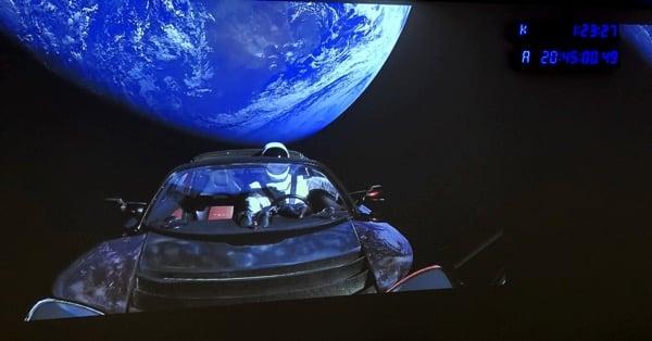 Tesla Roadster в космосе - самый дорогой и быстрый автомобиль в Солнечной системе!