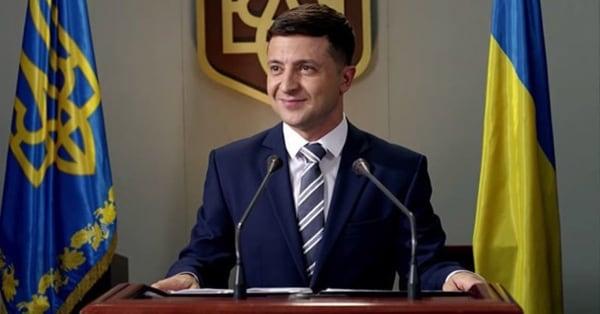 Зеленский - будущий президент Украины
